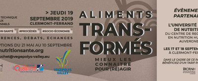 SÉMINAIRE TECHNIQUE ALIMENTS TRANSFORMÉS