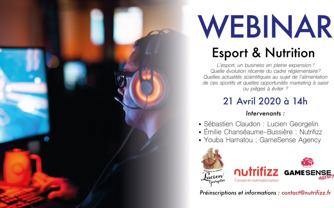Webinar Esport & Nutrition