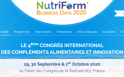 NutriFizz sera aux NutriForm' Business Days