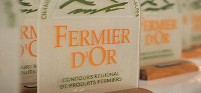 Concours de produits fermiers innovants : Les Fermiers d'Or 2020